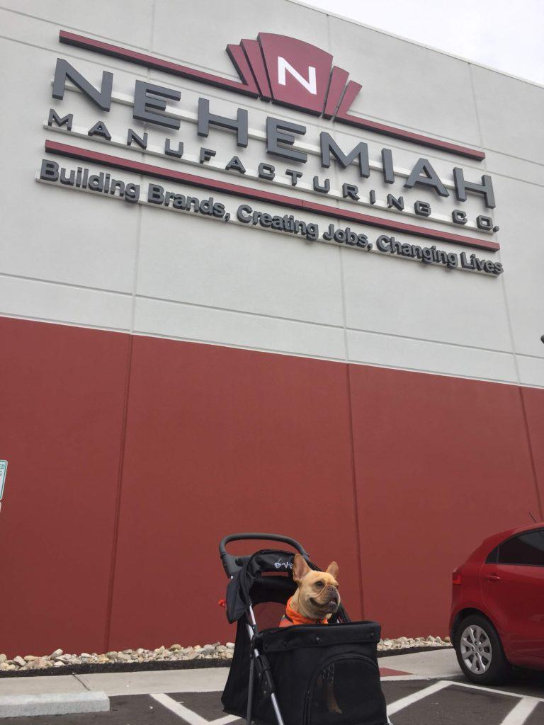 Vince at Nehemiah Manufacturing Cincinnati, OH