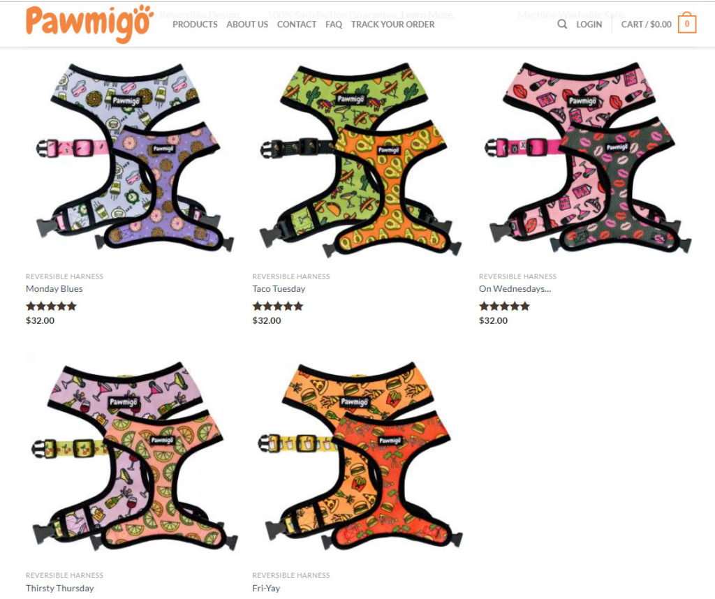 Pawmigo Harness | VinceCincy.com